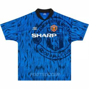 Maillot Retro Vintage Manchester United Away 1992-93 (1)