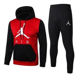 survetement jogging air jordan noir rouge