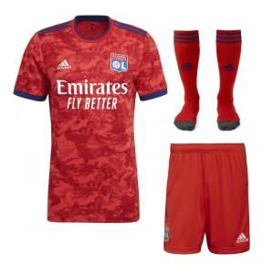 Maillot Enfant Olympique Lyonnais Exterieur 2021 2022 (1)