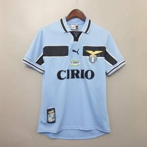 maillot retro vintage lazio 1999 2000- retro shirt Lazio 9900 home
