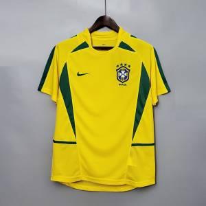 Maillot Brasil Retro Vintage Domicile 2002 (1)