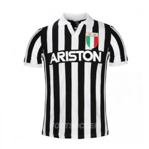 Maillot Retro Vintage Juventus Home 1984-85 (01)