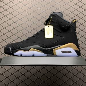 Air Jordan 6 DMP Noir Gold (1)