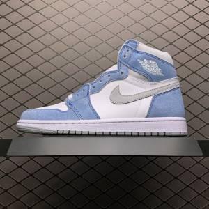 Air Jordan 1 Retro High Blue Grey (1)