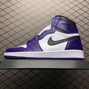 Air Jordan 1 Retro High Court Purple White (1)