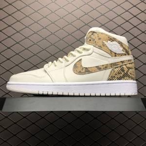 Air Jordan 1 Retro High White Snake (1)