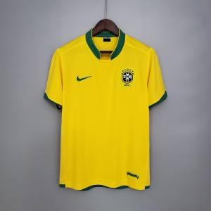Maillot Retro Vintage Brasil Domicile 2006 (1)