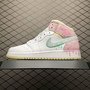 Air Jordan 1 MID Paint Drip (1)