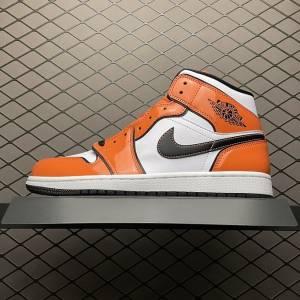 Air Jordan 1 MID Turf Orange (1)