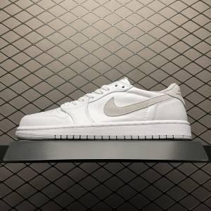 Air Jordan 1 Low Neutral Grey White (1)
