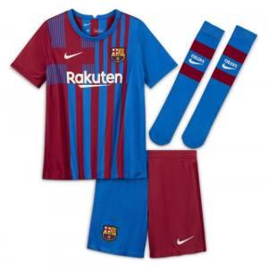MAILLOT ENFANT FC BARCELONE DOMICILE 2021 2022 (1)