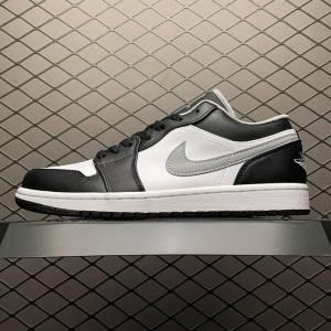 Air Jordan 1 Low Black White Grey (1)