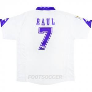 MAILLOT RETRO VINTAGE REAL MADRID 1997 1998 RAUL (1)