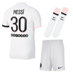 Maillot Enfant PSG Exterieur Lionel Messi 2021 2022 (001)