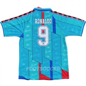 Maillot Retro Vintage FC Barcelone Exterieur 1996 1997 RONALDO (1)