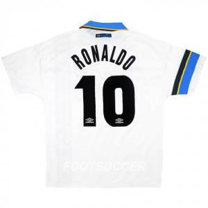Maillot Retro Vintage Inter Milan Away 1997 1998 RONALDO (1)