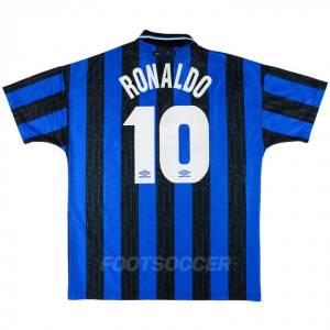 Maillot Retro Vintage Inter Milan Home 1997 1998 RONALDO (1)