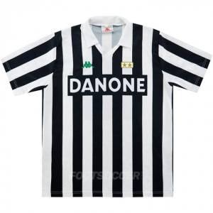 Maillot Retro Vintage Juventus Home 1992-94 (01)