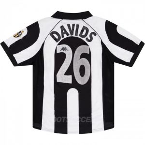 Maillot Retro Vintage Juventus Home 1997-98 DAVIDS (1)