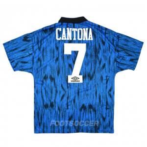 Maillot Retro Vintage Manchester United Away 1992-93 Cantona (1)