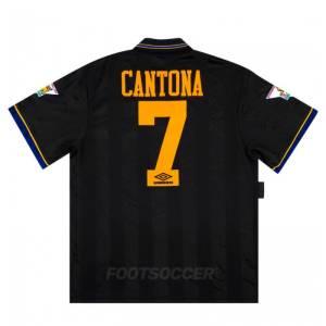 Maillot Retro Vintage Manchester United Away 1993-95 Cantona (1)