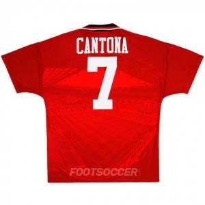 Maillot Retro Vintage Manchester United Home 1994-96 Cantona (1)