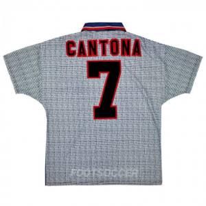 Maillot Retro Vintage Manchester United Away 1995-96 Cantona (1)