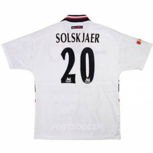 Maillot Retro Vintage Manchester United Away 1997-98 Solskjaer (1)