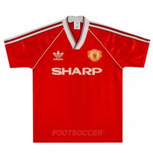 Maillot Retro Vintage Manchester United Home 1988-90 (1)