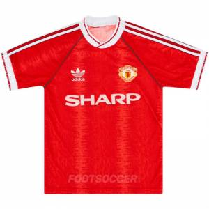 Maillot Retro Vintage Manchester United Home 1990-92 (1)