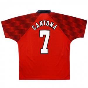 Maillot Retro Vintage Manchester United Home 1996-98 Cantona (1)