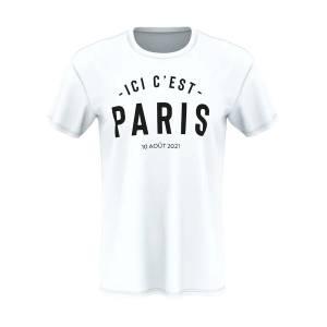 T-Shirt PSG Messi Ici c'est Paris (1)