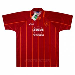 1996-97 Maillot Retro Vintage AS Roma Home (1)