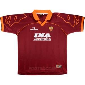 1999-00 Maillot Retro Vintage AS Roma Home (1)