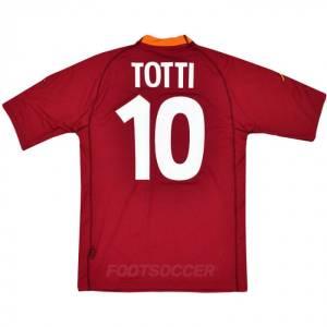 2000-01 Maillot Retro Vintage AS Roma Home TOTTI (1)