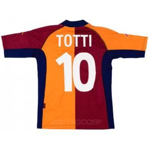 2001-02 Maillot Retro Vintage AS Roma Home TOTTI (1)