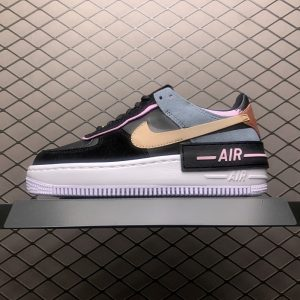 Air Force 1 Shadow Black Light Arctic Pink (W) (1)