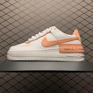 Air Force 1 Shadow White Coral Pink (W) (1)