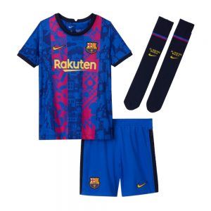 MAILLOT ENFANT FC BARCELONE THIRD 2021 2022 (01)