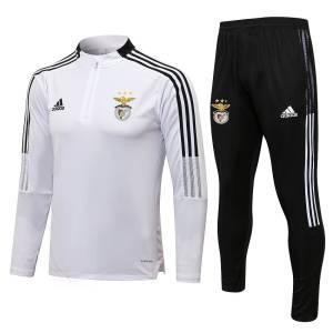 Survetement Training Benfica 2021 2022 Blanc (1)