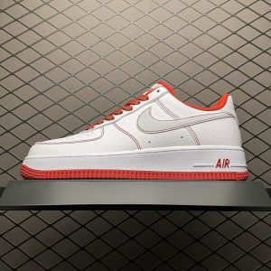 Air Force 1 07 Low Reflective White Red (1)