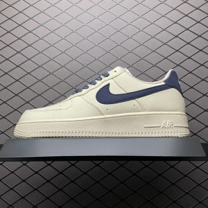 Air Force 1 Low Beige Deep Blue Reflection (1)