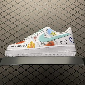 Air Force 1 Low Why So Serious White (1)