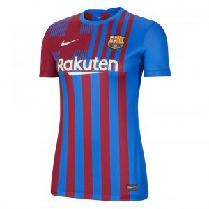 MAILLOT FC BARCELONE DOMICILE 2021 2022 Femme (1)