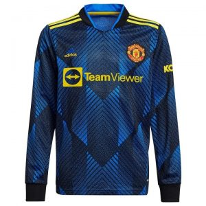 MAILLOT MANCHESTER UNITED AWAY 21-22 MANCHES LONGUES (1)