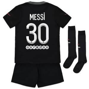 Maillot Enfant PSG Third Lionel Messi 2021 2022 (1)